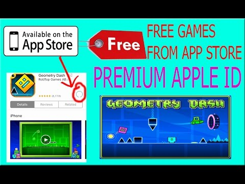 Download Geometry Dash From App Store For FREE!! No Jailbreak/PC IPhone , IPad , IPod