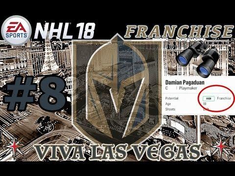 "NHL 18: Vegas Golden Knights Franchise #8 ""FRANCHISE PROSPECT?!"""