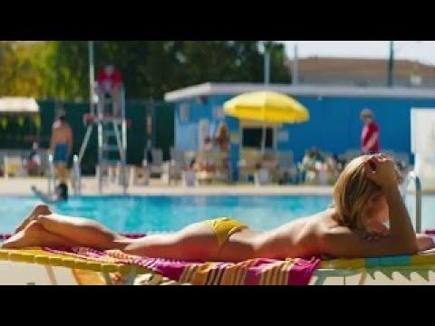 Ashley Greene Sexy in bikini and kissing Staten Island Summer