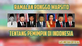 Download lagu GUS MIFTAH Firasat RONGGOWARSITOYang Jadi Presiden RI Dari Masa Ke Masa MP3