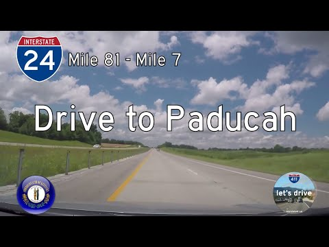 Interstate 24 - Mile 81 to Mile 7 - Kentucky |  Drive America's Highways 🚙