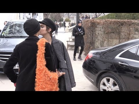 EXCLUSIVE  Cara Delevingne and Adwoa Aboah kiss after the Dior Fashion
