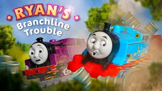 ryans branchline trouble accidents will happen sing along thomas friends