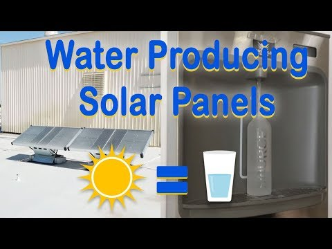 Pure Gold Solar - Water Producing Solar Panels (HydroPanels) & Water Dispenser
