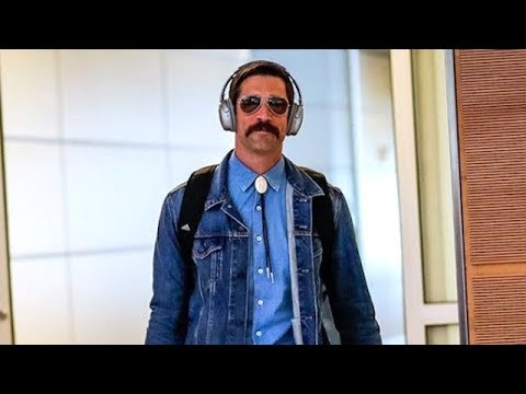 Mourning The Mustache Why Aaron Rodgers Shaved It Off The Rich Eisen Show 8 30 19 Youtube