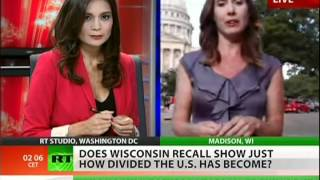 Wisconsin recall election draws record numbers to the polls