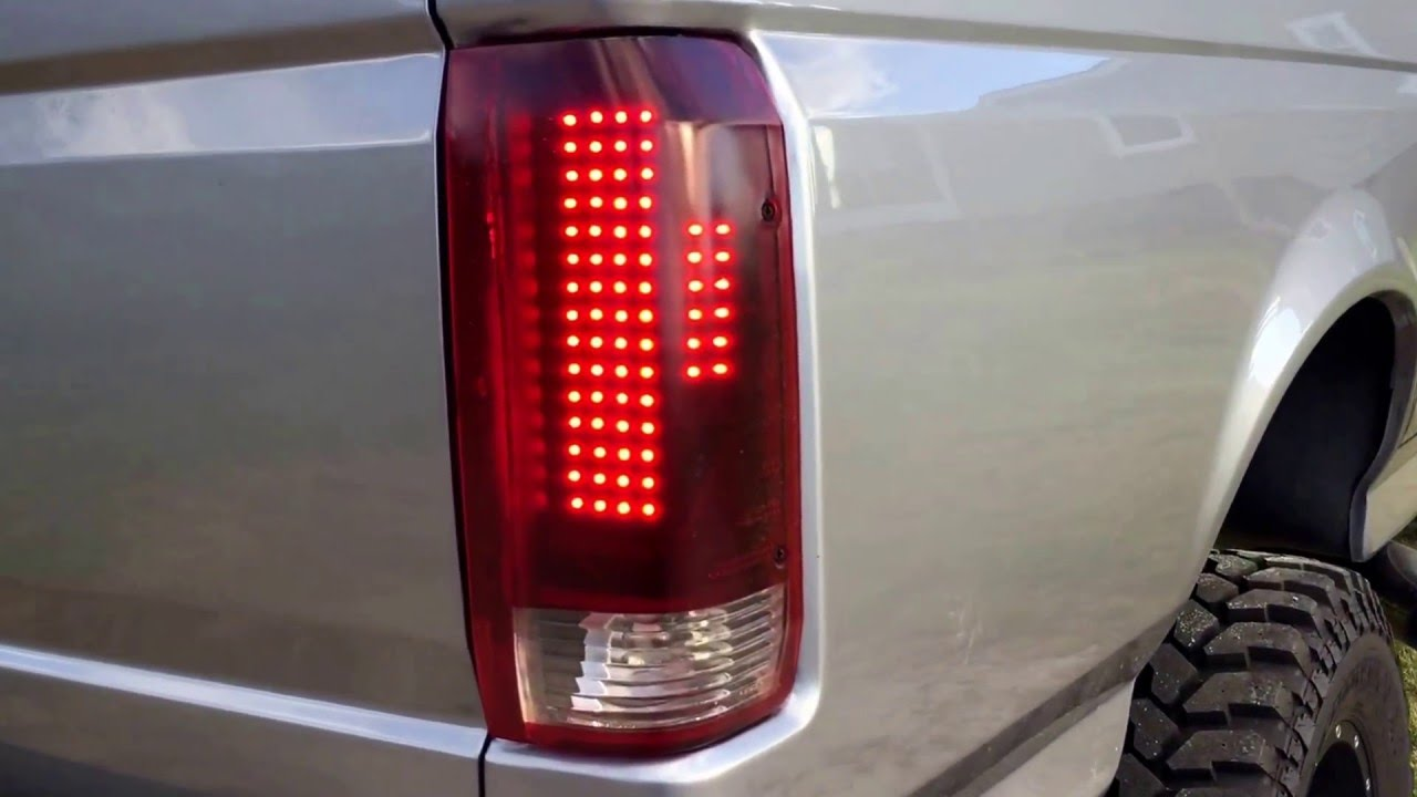 Obs Ford Led Tail Lights Youtube