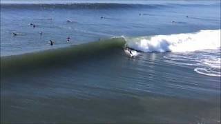 Surfing in Huntington Beach early January.wmv