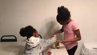 GRANNY GETS DAD FOR CHEATING WHILE PLAYING SIMON SAYS!!!