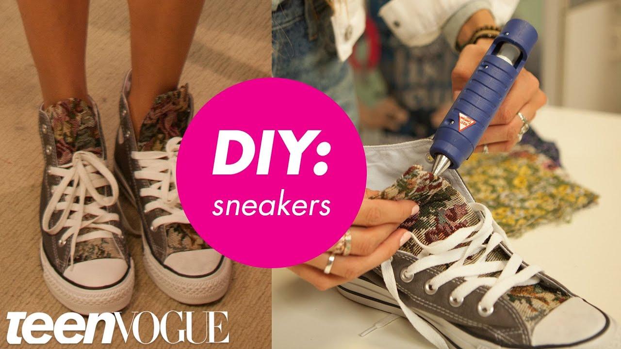 1e8a1e0402d7 How to Customize Your Kicks - Teen Vogue - YouTube