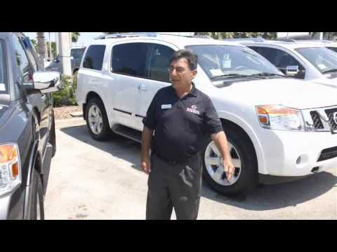 toyota sequoia vs daytona nissan armada youtube. Black Bedroom Furniture Sets. Home Design Ideas