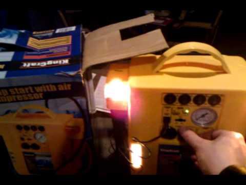 Car Battery Charger >> ALDI KrafKing Jumpstart - YouTube