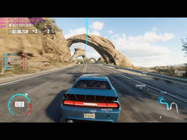 The Crew WR notebook gameplay 1080p