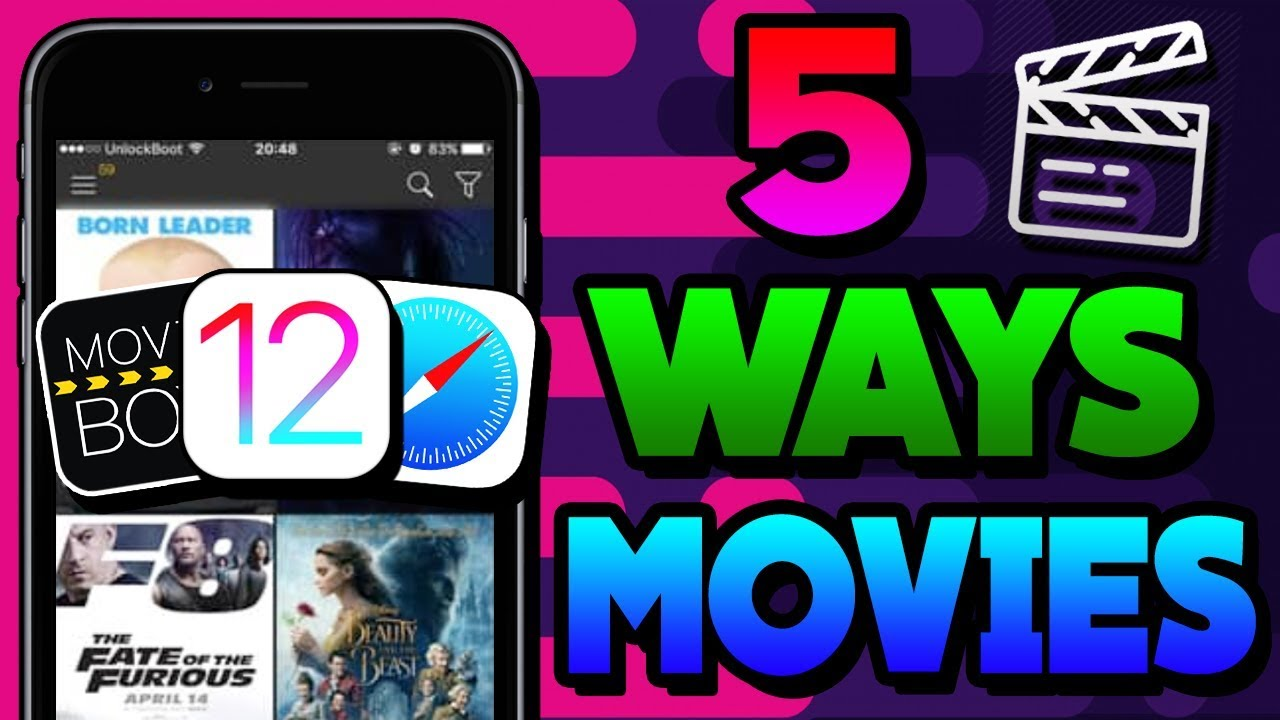 Download NEW How To Watch Movies FREE iOS 12 / 11 / 10 NO Jailbreak iPhone iPad iPod - 5 WAYS [2019]