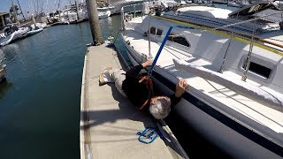 """Why We Sail--""""Jacklines and Harness"""""""
