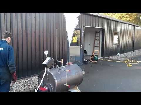 Oil fired boiler: Marine engineer project