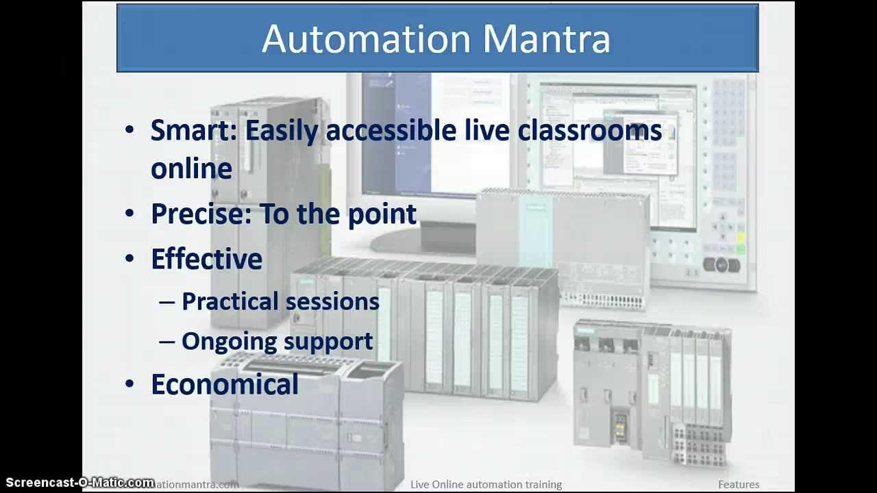 LIVE Automation Training Online-SIEMENS PLC S7-300,S7-400, HMI, SCADA