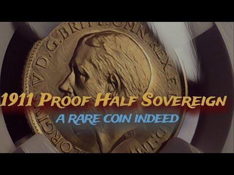 1911 proof half sovereign arrives from Drake Sterling in Sydney Australia