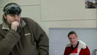 Liam Neeson Auditions for Mall Santa Claus REACTION! by A Random Auzzie.