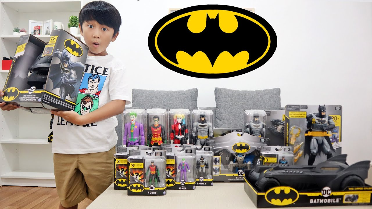 Download BANYAK BANGET!! Ziyan Unboxing Mainan Batman dari Spin Master