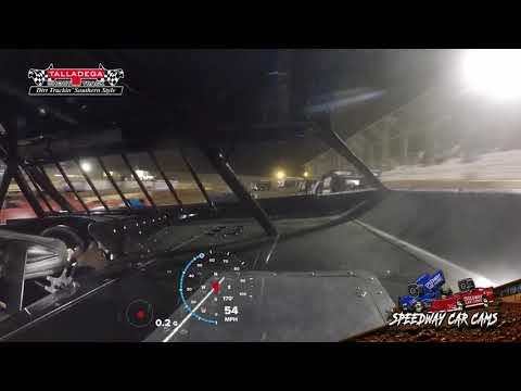 #55 Ryan King - 602 Crate - 3-29-19 Talladega Short Track - In Car Camera