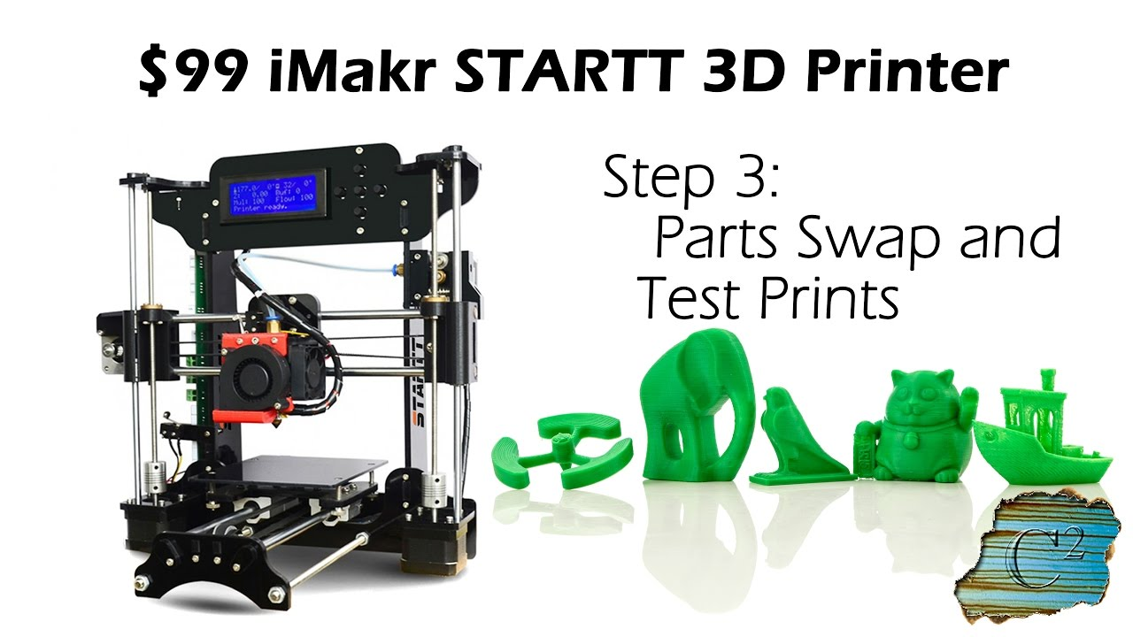 video Startt iMakr 3D Printer (Kit)