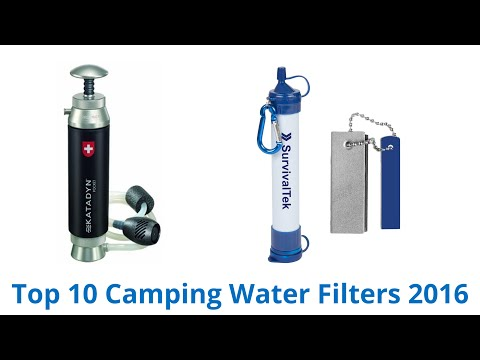 10 Best Camping Water Filters 2016