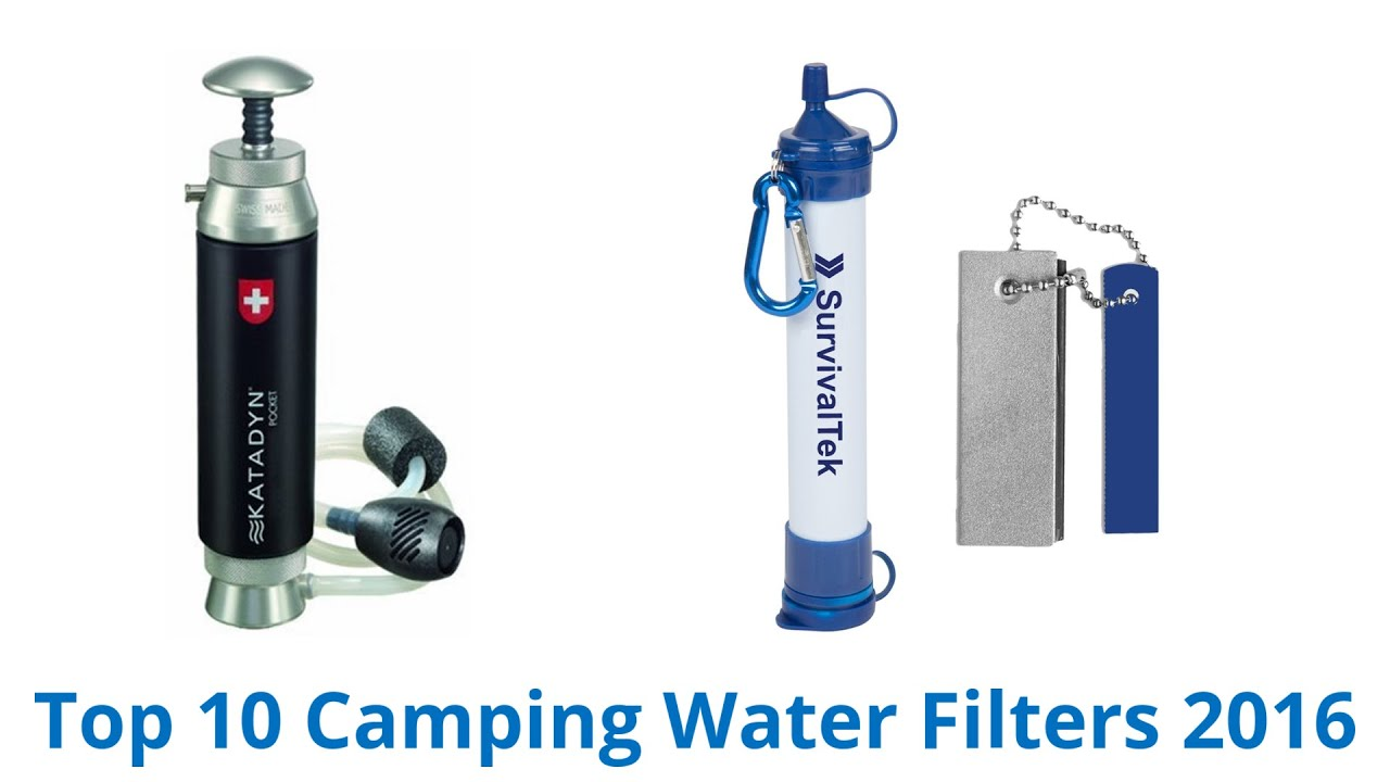 10 Best Camping Water Filters 2016 YouTube