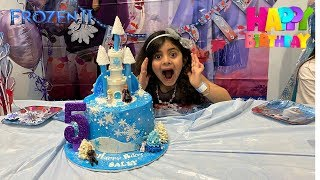 Frozen 2 Birthday Party surprise! Sally turns 5