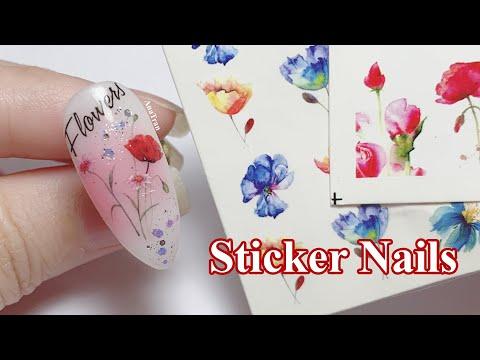 Nail Dán Sticker Chữ Sao Cho Đẹp Và Bền