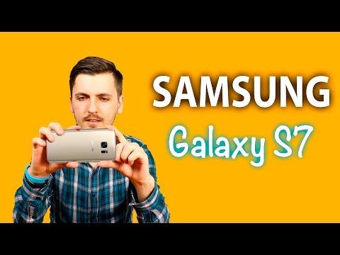 Samsung Galaxy S7 G930F Первое Знакомство + Тест Камеры