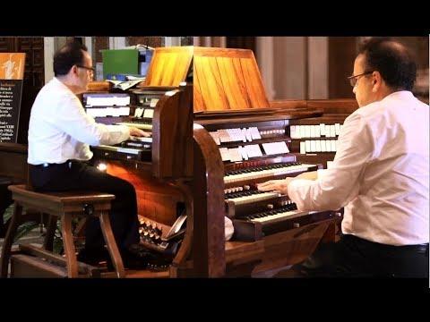 "DAVID BRIGGS Plays Pierre Cocherau: ""Variations on Alouette, gentille Alouette"" (Rome 2017)"