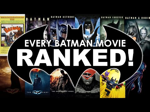 Every Batman Movie Ranked!