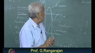 Mod-01 Lec-17 Dispersion and Absorption of Electromagnetic Waves in Dielectric Media, Ferro