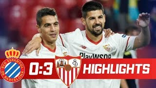 Espanyol vs Sevilla 0-3 Goals & Highlights - LaLiga 20/01/2018 HD