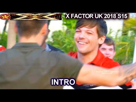 INTRO The Boys with Louis Tomlinson Liam Payne & Nile Rodges Judges House X Factor UK 2018