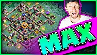 MAX BUILDER HALL! • Gem Clash of Clans Builder Base!