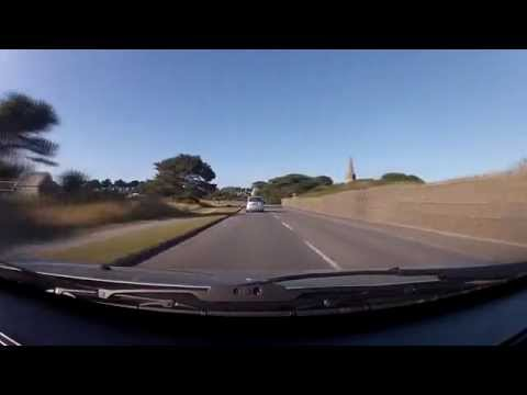 Driving Around Guernsey (Channel Islands)