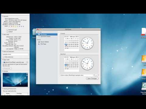Changing Timestamps of Your Files