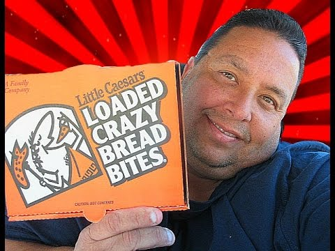 Little Caesars® $4 Loaded Crazy Bread Bites REVIEW!