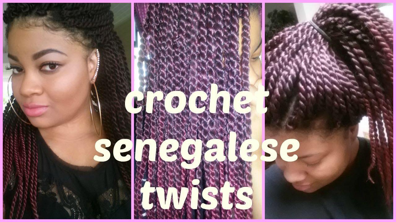Model Model Glance Braid Senegalese Twist Crochet Braid Youtube