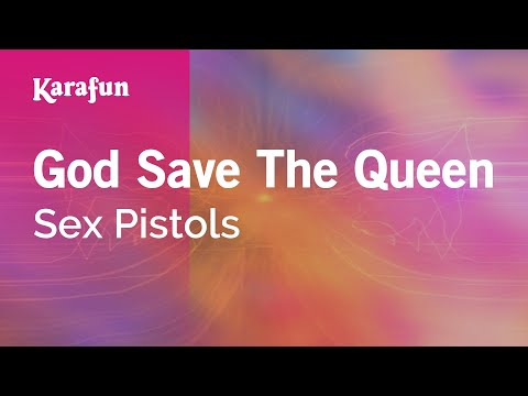 Karaoke God Save The Queen  Sex Pistols *