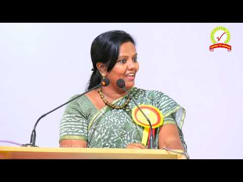 Motivational Speech by Dr I S Parveen sulthana