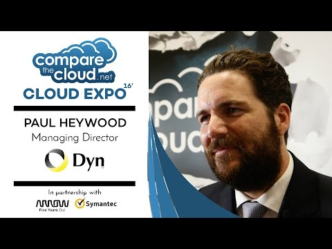 Internet Performance Management - #CloudTalks with Dyn's Paul Heywood LIVE from Cloud Expo