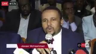 Haasaa jawar Mohammed guyyaa har'a