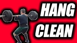 Hang Clean - One of the best Workouts for Football