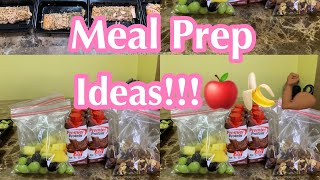 Healthy journey day1 meal prep ideas ...