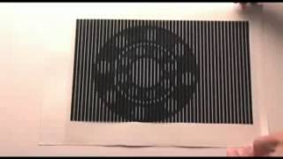 Moire efekt - Optický klam