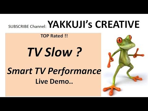 How to fix Sony Smart tv Slow Internet | Android 4k tv buffer | TV Slow | Speed up smart TV | 2017