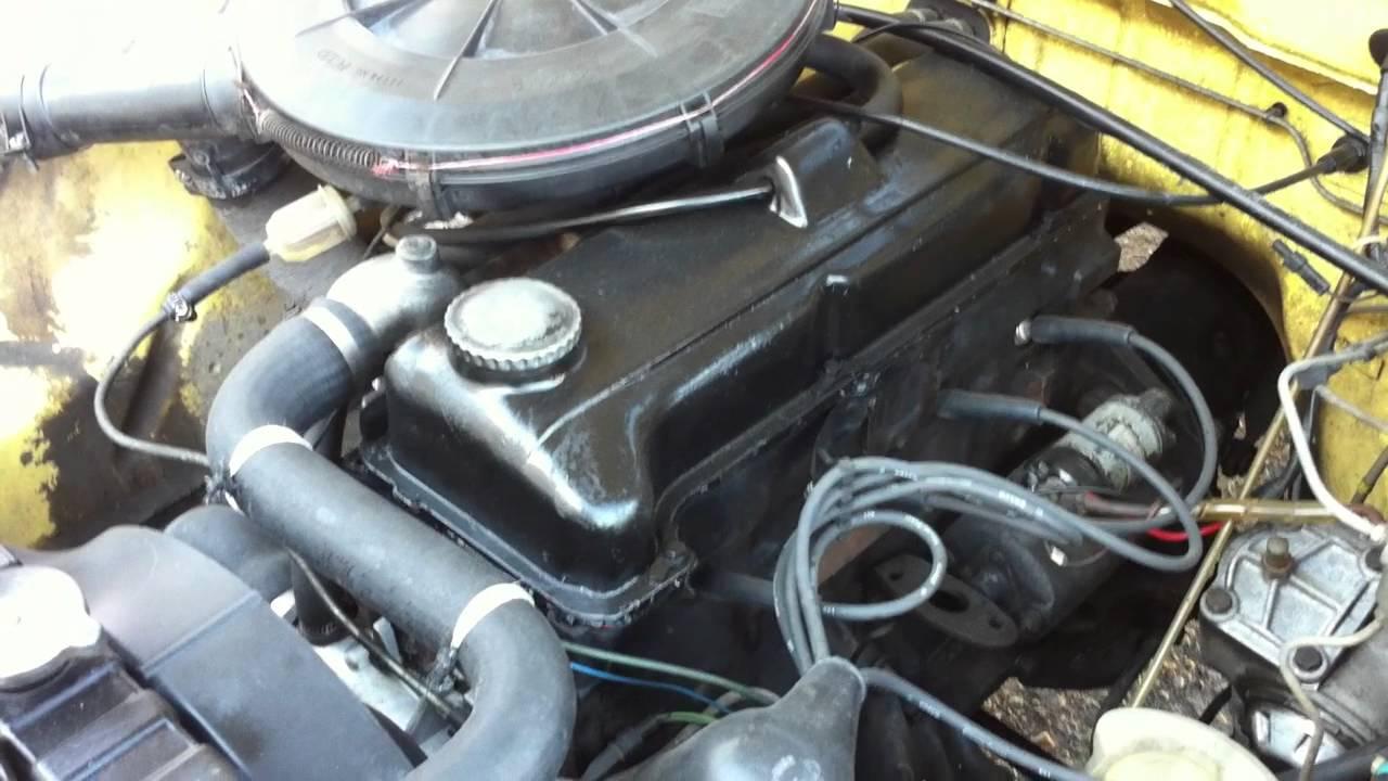 Opel Rekord E Motor Youtube